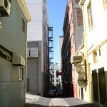 Alley behind Frieda's_Cape Town_South Africa_Magic Mountain
